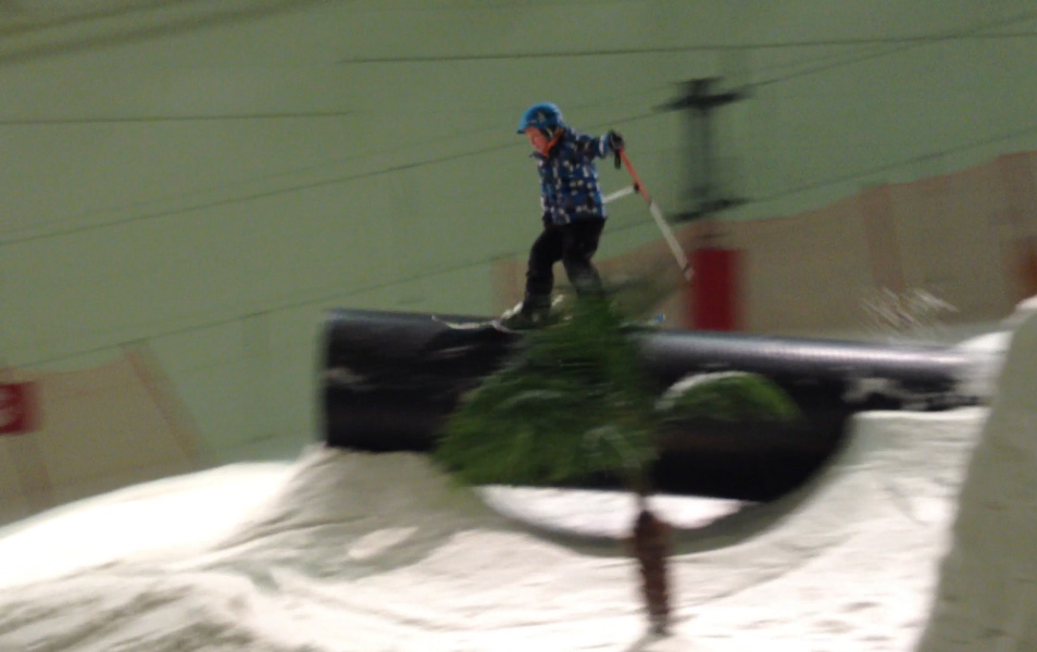 bradley fry at halifax freeski training