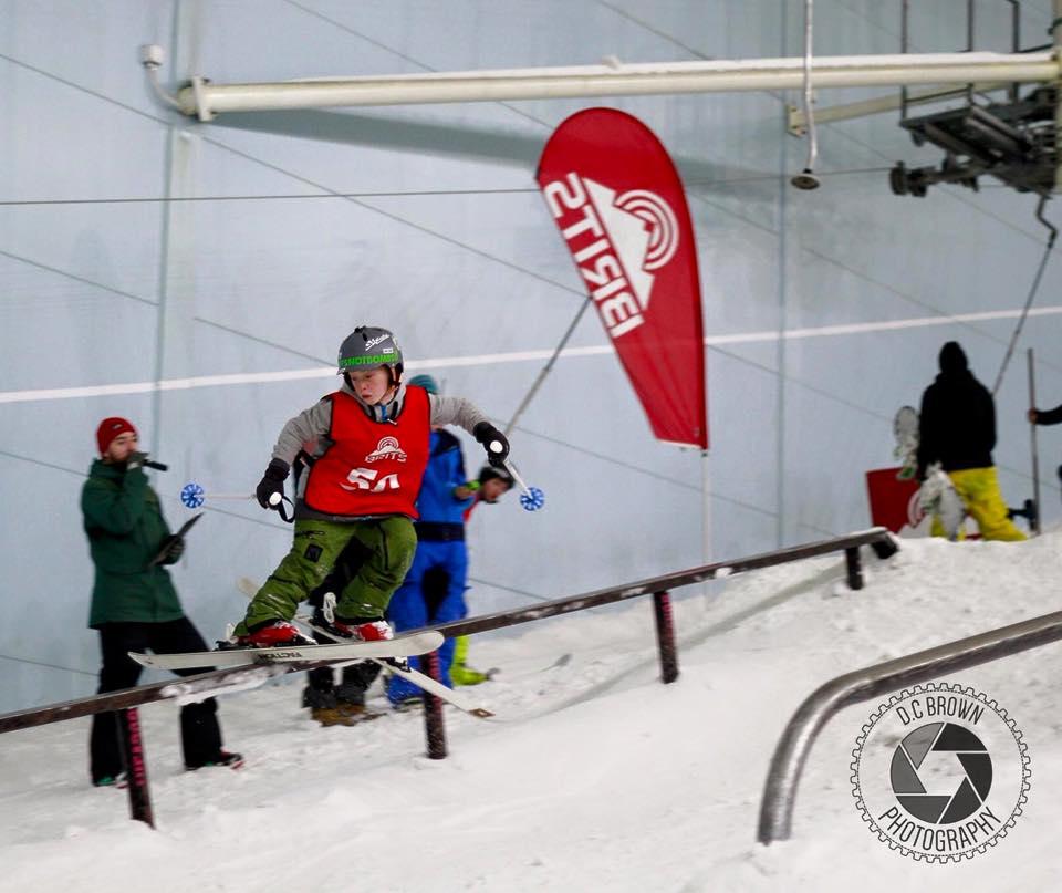 bradley fry skier brits slopestyle champion