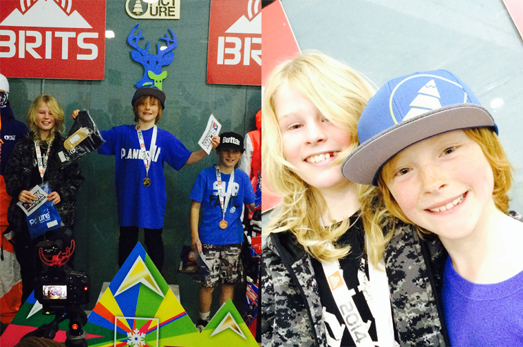 bradley fry and crew at the brits chill factore
