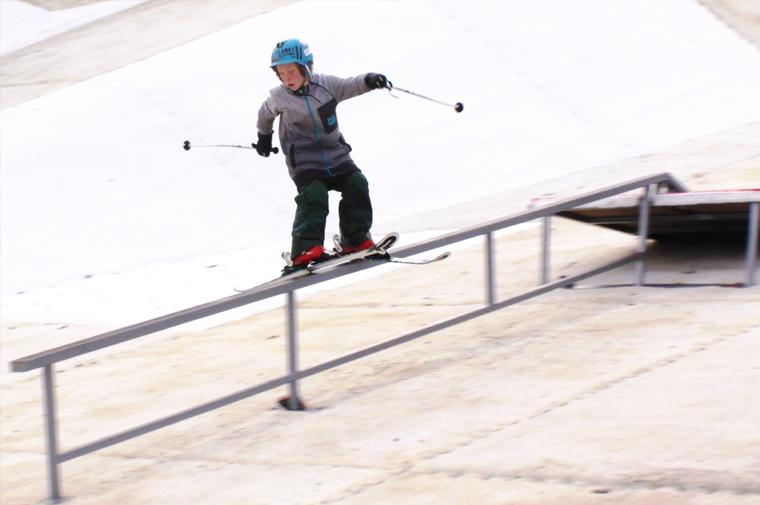 Bradley Fry kidsgove ski slope