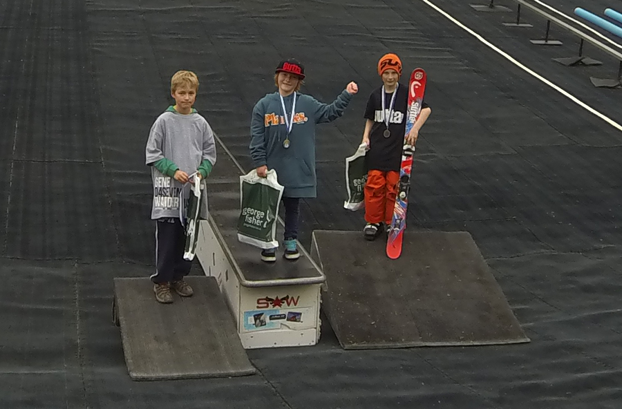 Bradley Fry wins KJAM freestle comp