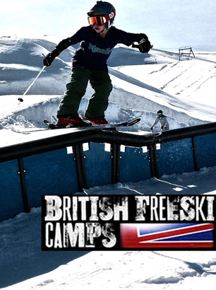 bradley fry at cervinia freeski camp