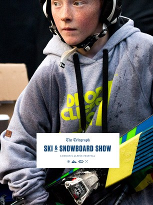 bradley fry london telegraph ski show